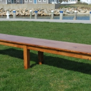 New England Classic Farm Bench