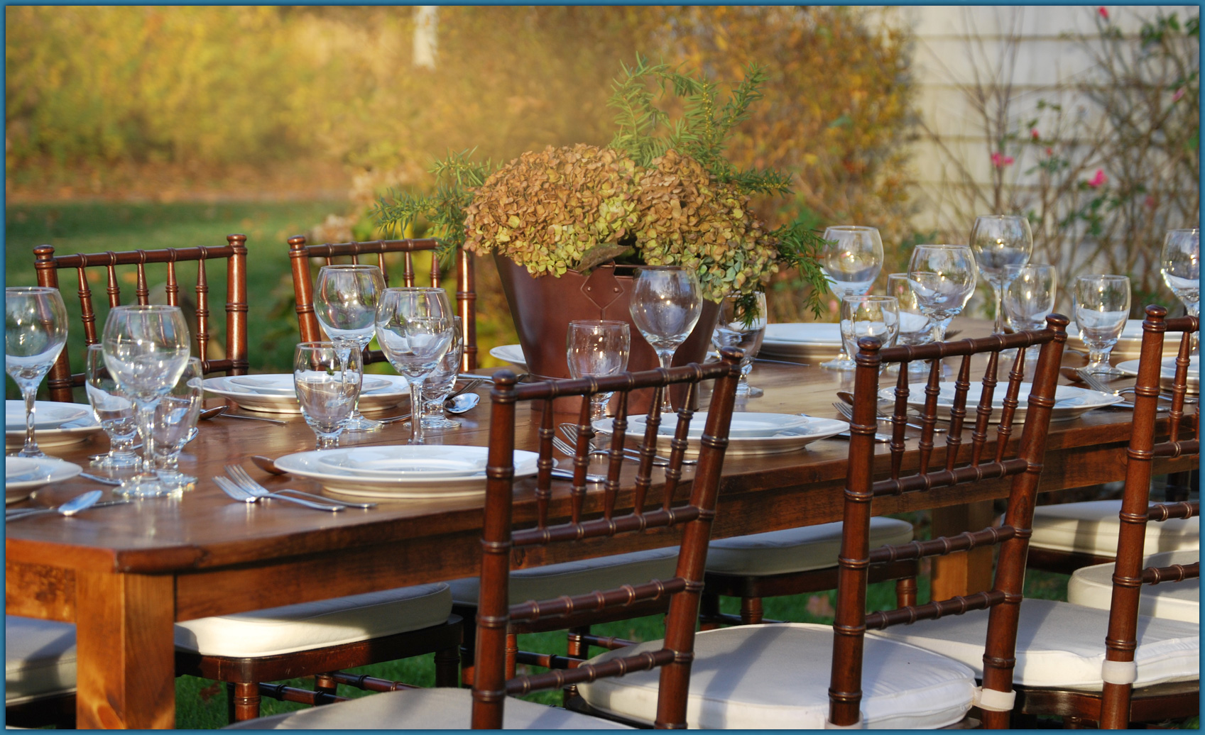 True North Event Rentals FAMILY FARM TABLES HANDCRAFTED RENT - The farm table ma